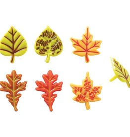Deco Pack Fall Leaves Cupcake Picks