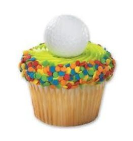 Decopac Golf Ball Cupcake Rings