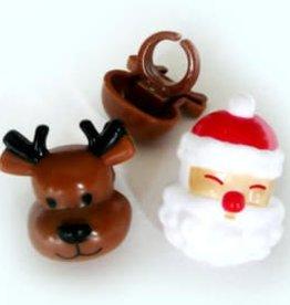 Decopac Santa & Reindeer Rings