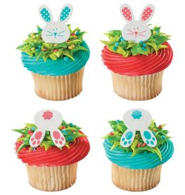 Deco Pack Bunny and Tails Cupcake Rings