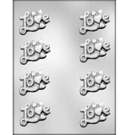 CK Love with Hearts Chocolate Mold