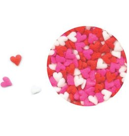 Decopac Heart Mini Quins (Pink, White, Red)