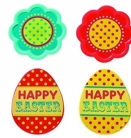 Deco Pack Eggs and Flowers Cupcake Rings