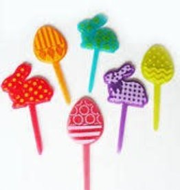 Deco Pack Bunny and Egg Cupcake Picks