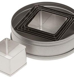 Ateco Square Cookie Cutter Set