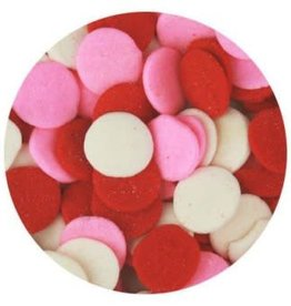 Deco Pack Jumbo Quins (Red, Pink, White)