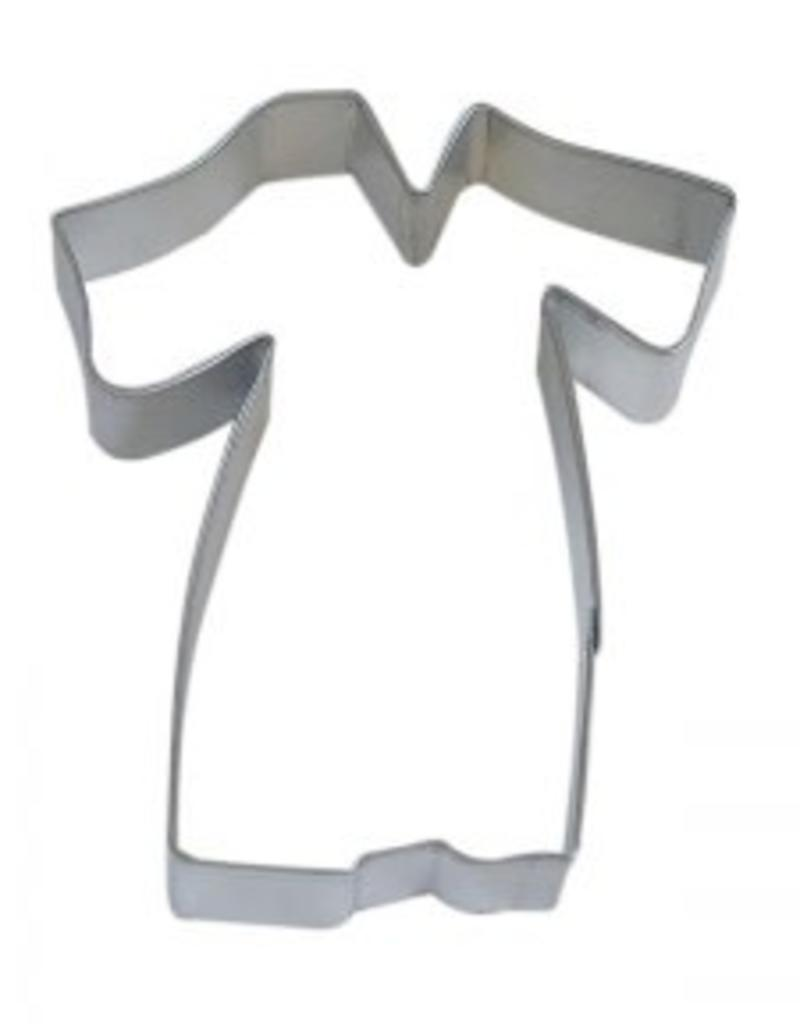 "R and M Graduation Gown Cookie Cutter (4"")"
