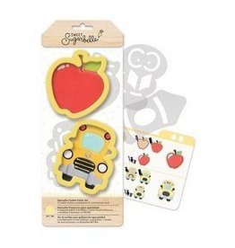 American Crafts Sweet Sugarbelle Back to School Cookie Cutter Set