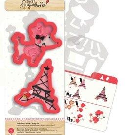 American Crafts Sweet Sugarbelle Ooh La La Cookie Cutter Set