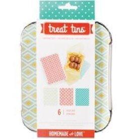 American Crafts Sweet Sugarbelle Treat Tin Geometric Small