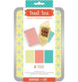 American Crafts Sweet Sugarbelle Treat Tin Geometric Large
