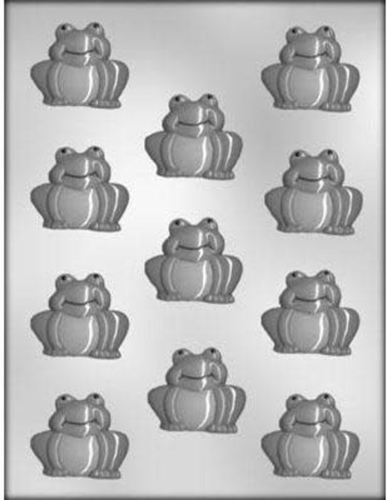 CK Products Frog Sitting on all Four Feet Chocolate Mold