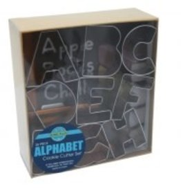 R and M Alphabet Cookie Cutter Set (26 pc.)
