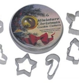 R and M Christmas Cookie Cutter Set Mini