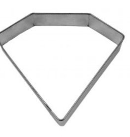 "R and M Diamond/Jewel Cookie Cutter (4"")"