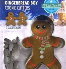 R and M Decorate Your Own Gingerbread Boy Cookie Cutter