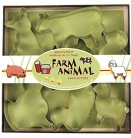 Fox Run Farm Animal Cookie Cutter Set