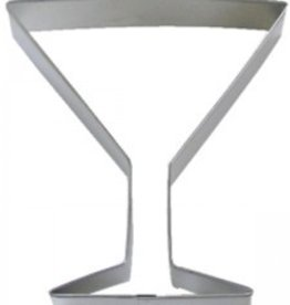 "R and M Martini Glass Cookie Cutter (4"")"