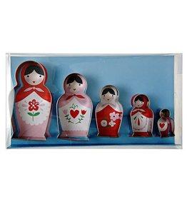 Meri Meri Meri Meri Russian Dolls Cookie Cutter Set