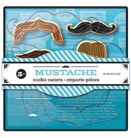 Fox Run Mustache Cookie Cutter Set