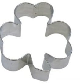 "R and M Shamrock Cookie Cutter (5.5"")"