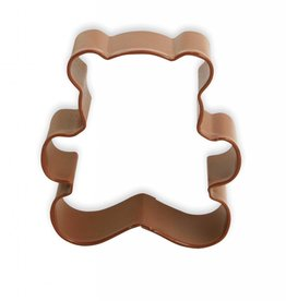 R and M Teddy Bear Cookie Cutter (coated steel) 3""