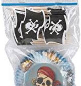 Wilton Pirate Baking Cups and Picks