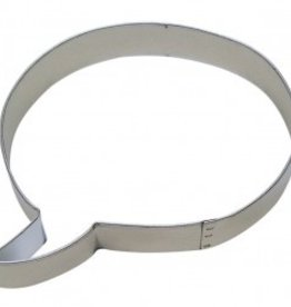 """R and M Talking Bubble Cookie Cutter (4.25"""")"""