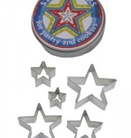 R and M Star Shape Cookie Cutter Set