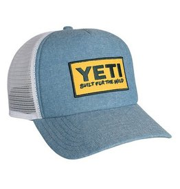 YETI YETI Deep Fit Foam Patch Trucker Hat
