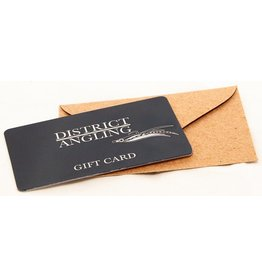 District Angling District Angling Gift Card (eCom Only)