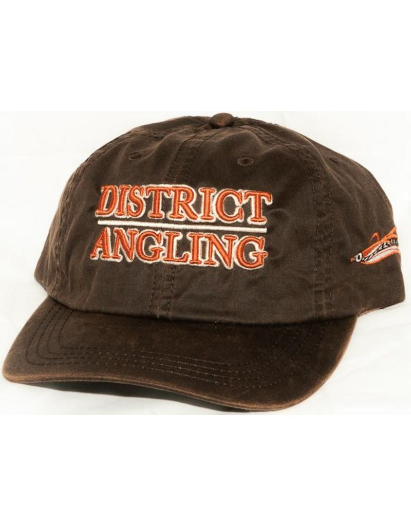District Angling District Angling Oilcloth Cap