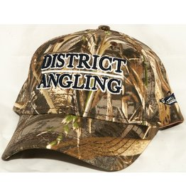 District Angling District Angling Structured Camo Cap