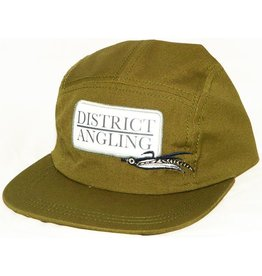 District Angling District Angling Canvas Camper Flat Bill