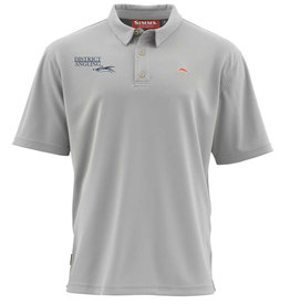 Simms Fishing District Angling Logo Polo
