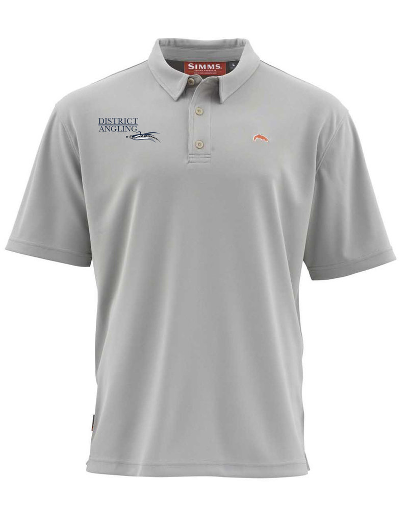 Simms Fishing CLOSEOUT District Angling Logo Polo