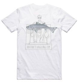 District Angling Honest Abe Short Sleeve Tech Tee