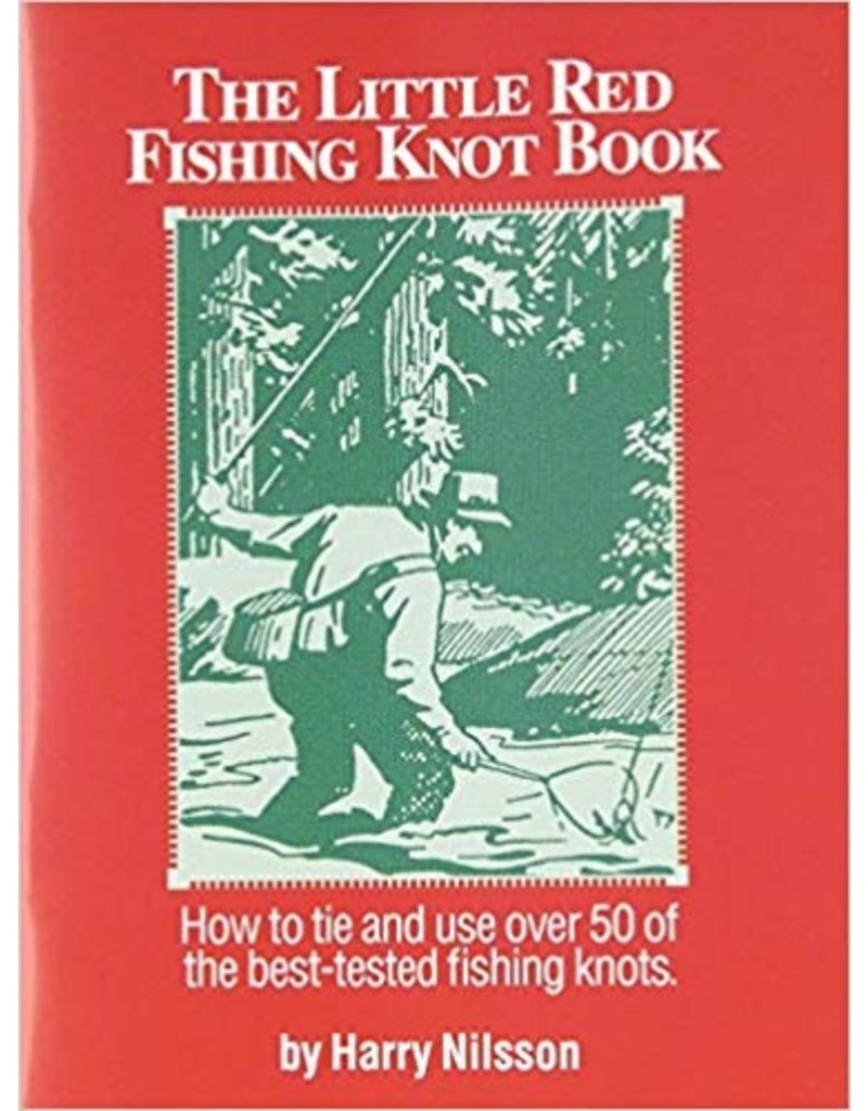 District Angling Little Red Fishing Knot Book