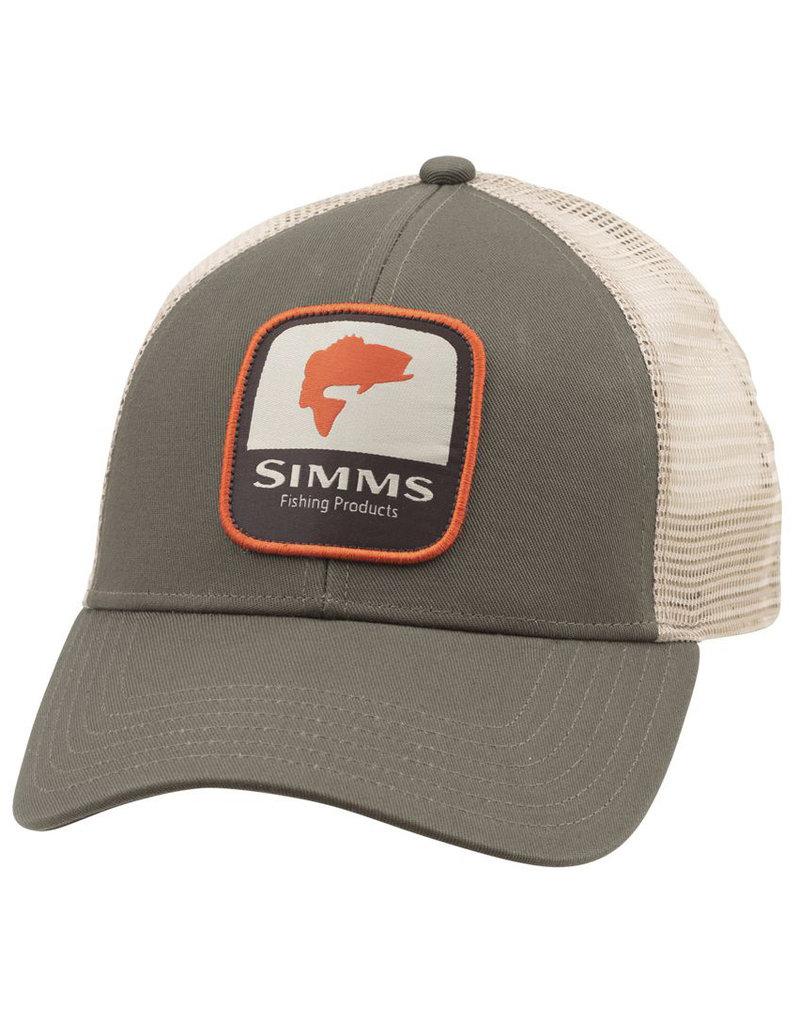 Simms Fishing Simms Bass Patch Trucker Cap