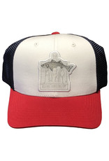 District Angling District Angling Honest Abe Trucker Cap