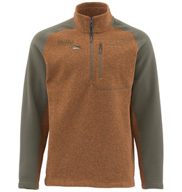 District Angling District Angling Rivershed Sweater Quarter Zip