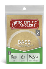Scientific Anglers Scientific Anglers Bass Leader 2-Pack