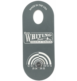 Whiting Hackle Farms Whiting Hackle Gauge