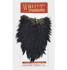 Whiting Hackle Farms Hen Saddles