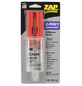 Zap-a-Gap Z-Poxy 5 Minute Epoxy