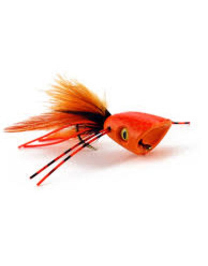 Flymen Fishing Company Double Barrel Bass Bug Popper