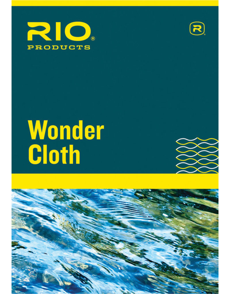 RIO Products Wonder Cloth Flyline Cleaner