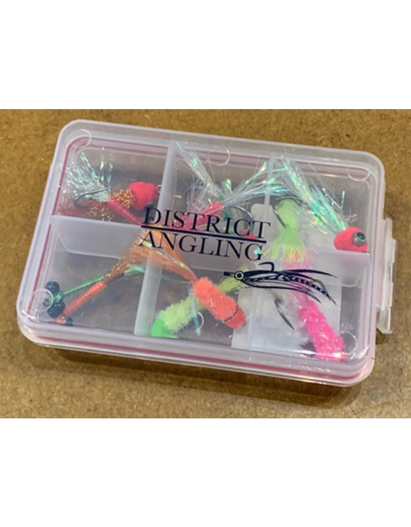 District Angling Shad Fly Selection