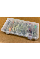 District Angling Topwater Bass Flies Selection