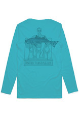 District Angling CLOSEOUT Honest Abe Long Sleeve Tech Tee